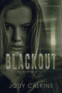 Book Cover: Blackout (The Hexon Code, Book 3)