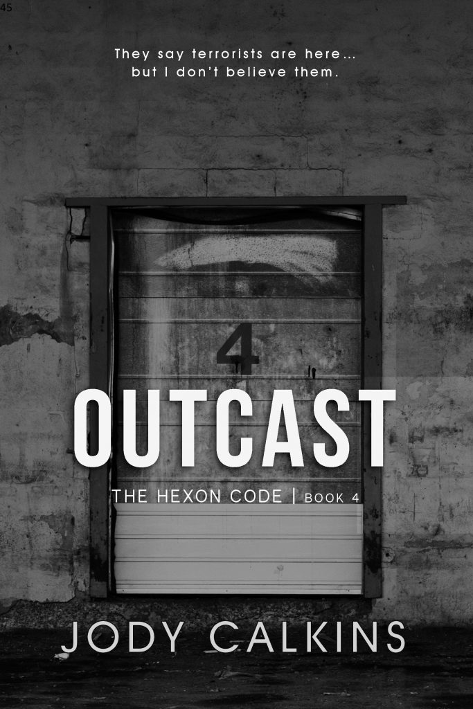 Book Cover: Outcast (The Hexon Code, Book 4)